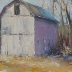 Rebecca Justice Schaab - Paint Out at The Art Farm