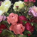 Diane Reeves - PAINT BEAUTIFUL FLOWERS WITH LUMINESCENT COLOR (PUTNEY, VT)