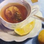 Mary Kamerer - Art League of Baytown 2021 Juried Exhibition: The Art of Tea