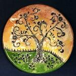 FIRST GALLERY OLATHE  - Clay Class: Tree of Life Plate  August 2, 1:15-2:15 pm or 2:0-3:30 $25 per artist