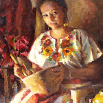 """The Brinton Museum - Jerry Salinas: """"Painting the Costumed Figure"""""""