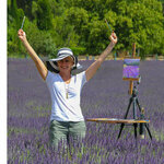 Julie Snyder - Lavender Season in Provence - Art Retreat