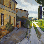 Marcie Cohen - Painting in Tuscany