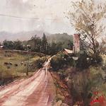Vladislav Yeliseyev - Landgrove Inn Watercolor Workshop