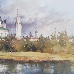 Vladislav Yeliseyev - Painting Vacation - Russia