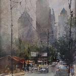 Vladislav Yeliseyev - Olmsted Studio Watercolor Workshop Atlanta, GA