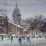 Vladislav Yeliseyev - Watercolor Online with Tatiana Anisimova