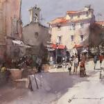 Vladislav Yeliseyev - The Villages, FL Studio Watercolor Workshop
