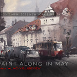 Vladislav Yeliseyev - Paint Along with Vlad Live on Zoom