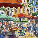 Virginia Fergus - St James Court Art Show