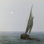 Del-Bourree Bach - Copley Society Small Works: SeaPort
