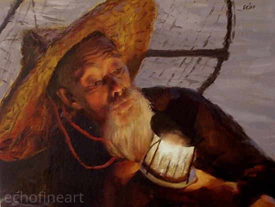 Lighting the Lamp - Oil
