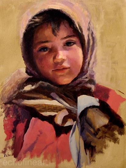 Little Girl - Oil