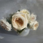 Kathleen Speranza - Rose Painting Workshop at Bay Area Classical Artist Atlier