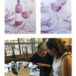 Christine Obers - Painting with Wine, Evening Workshop