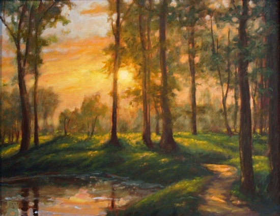 Let the Light Through by Michael Orwick Oil ~ 16 x 20