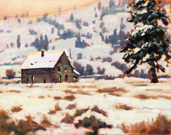 Quiet Nostalgia by Michael Orwick Oil ~ 11 x 14