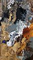 Deep Into Autumn by Carol Staub Mixed Media ~ 16 x 8
