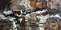 Environmental Series 21 by Carol Staub Mixed Media ~ 26 x 50