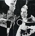 Checkmate by Carol Staub Acrylic ~ 37 x 37