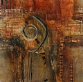 Portal Series No.5 by Carol Staub Mixed Media ~ 50 x 50