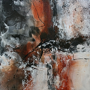 Grand Canyon by Carol Staub Mixed Media ~ 37 x 37