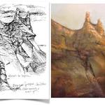 Vasili Katakis - VisualDiary- Sketching in Nature