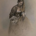 Megan Lawlor - From Life: 3rd SCNY Drawing Competition of the Draped Figure: Celebrating 150th Year Anniversary