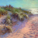 Lana Ballot - Painting Dunes and Coastline with Pastels