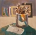 Studio Reflection by Kathryn Ellis