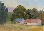 Old Napa by Kathryn Ellis Oil ~ 8 x 10