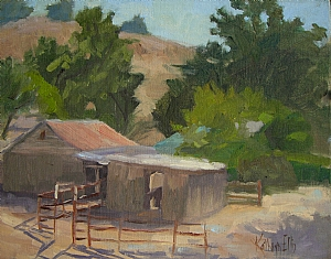 Ray's Ranch by Kathryn Ellis Oil ~ 11 x 14
