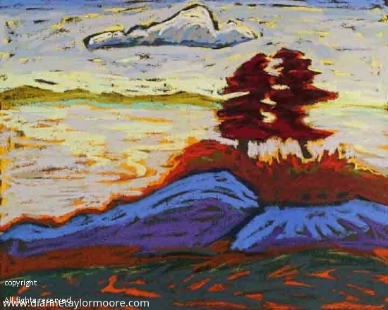 """""""Low Tide-Blue Hill Maine"""" by Dianne Taylor Moore Pastel ~ 18"""" x 16"""""""