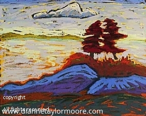 """Low Tide-Blue Hill Maine"" by Dianne Taylor Moore Pastel ~ 18"" x 16"""