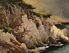 Cliffs at Blue Fish Cove by Brian Blood Oil ~ 11 x 14