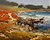 February Morning at Cypress Point by Brian Blood Oil ~ 11 x 14