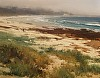 Beach at Spanish Bay by Brian Blood Oil ~ 11 x 14
