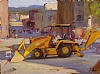 Franklin  & Pacific St, Monterey by Brian Blood Oil ~ 9 x 12