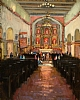 Mission San Jaun Bautista by Brian Blood Oil ~ 14 x 11