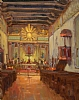 Mission San Miguel Arcangel by Brian Blood Oil ~ 14 x 11