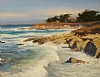 Big Surf in Pacific Grove by Brian Blood - Oil