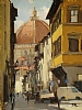 Short-cut to the Duomo Florence by Brian Blood - Oil