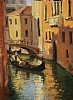 The Light is Right !, Venice by Brian Blood Oil ~ 12 x 9