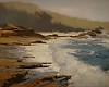 Morning Glare, Pt Lobos by Brian Blood Oil ~ 11 x 14