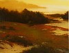 Sunset Over Cypress Point, Pebble Beach by Brian Blood Oil ~ 24 x 30
