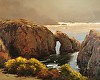 The Arches, Pt. Lobos by Brian Blood - Oil