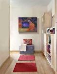 """""""Moon Window,"""" in a hallway setting by Carol McIntyre Oil ~  x"""