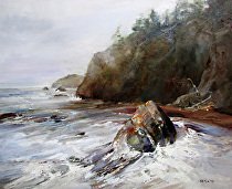 Northwest Coast by Sue Smith Oil ~ 20 x 24