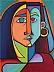 Visiting Picasso by Cecile Miranda