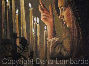 An example of fine art by Dana Lombardo